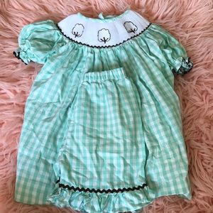 Other - Cotton Smocked Top and Shorts